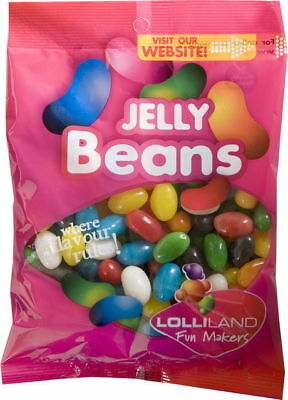 Jelly Beans 225g  - Bulk Lollies Pre Bagged for Party Favours Candy
