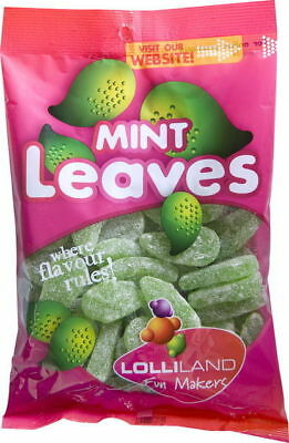 Mint Leaves 225g  - Bulk Lollies Pre Bagged for Party Favours Candy