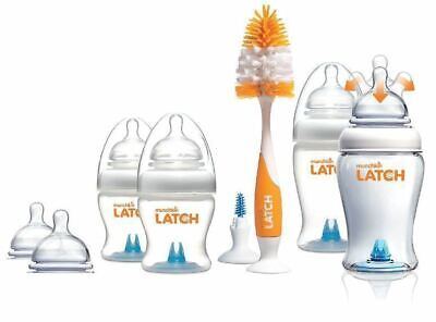 Latch Newborn Bottle Start Set MUNCHKIN Baby Feeding Milk Complete Kit