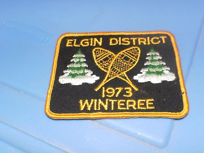 Elgin District 1973 Winteree Scouts Patch