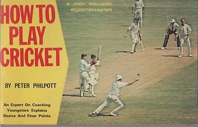 1970s How to play Cricket Book