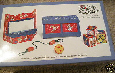 Muffy VANDERBEAR Outfit NIP 1997 MINT HTF Play Date The Toy Collection Toy Box