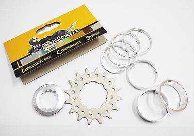 Mr.Control Single Speed Conversion Kit for 7 to 11 Speed Multi-Fit Bicycles