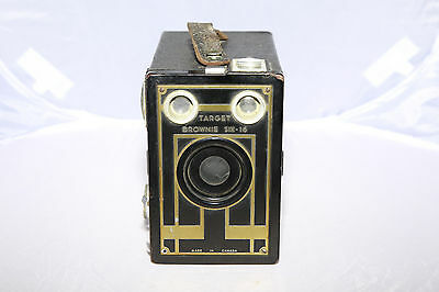 Target Brownie Six-16 Box Camera - Early Version - Working - Ships From Canada!