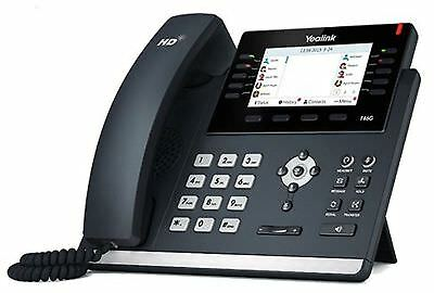 "Yealink SIP-T46G Gigabit IP Phone - Skype Business Edition 16-Line, 4.3"" 480x272"