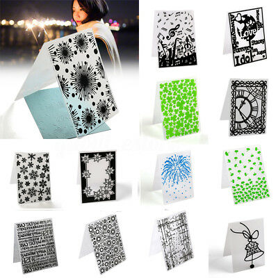 Various Pattern Embossing Folder Template Scrapbooking Paper Cards DIY Craft