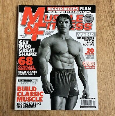 MUSCLE & FITNESS MAGAZINE January2011