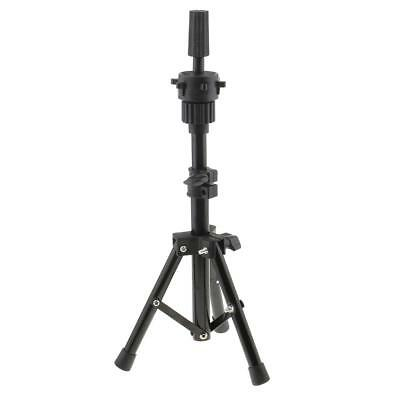 Hairdressing Cosmetology Mannequin Manikin Practice Head Holder Tripod Stand