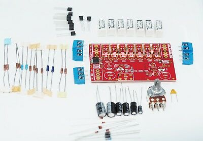 128 steps unbalanced stereo volume control kit w/ highly reliable relays !!