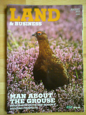 Land & Business August 2013