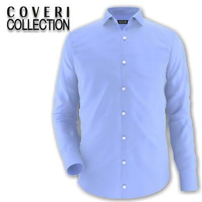 Camicia uomo regular collo classico COVERI COLLECTION 100% cotone