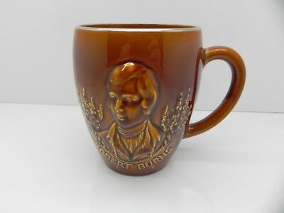 Collectable Beswick Porcelain Robert Burns 3D Mug/tankard 1596
