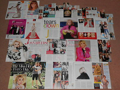 40+ JOAN RIVERS Magazine Clippings