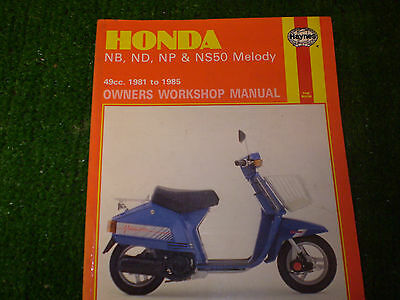 Honda MELODY haynes manual