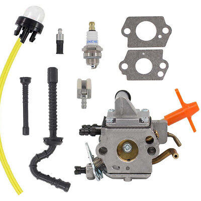Carburetor Kit Fits for Stihl MS192 MS192T MS192TC Chainsaw Zama C1Q-S258 Carb