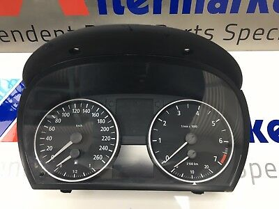 BMW 3 Series E90 E91 E92 Instrument Cluster / Clocks / Speedo KM/H 6211 6974651