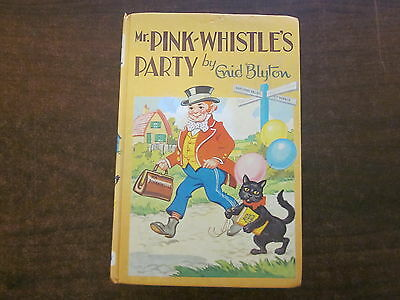 MR PINK-WHISTLE'S PARTY by Enid Blyton Hardcover Book #29 Deans Rewards