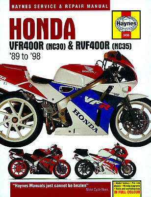 Haynes Honda Rvf400R Nc35 Vfr400R Nc30 Haynes Service Manual Workshop Manual