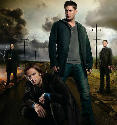 Supernatural tv show prints