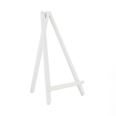 Large Wooden Easel in White