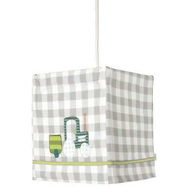 NEW Mamas and Papas Pixie and Finch Boys Fabric Nursery Lampshade Light Lantern