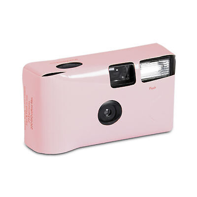 Pretty Pastel Pink Disposable Cameras Favour Party Accessory Pack of 2