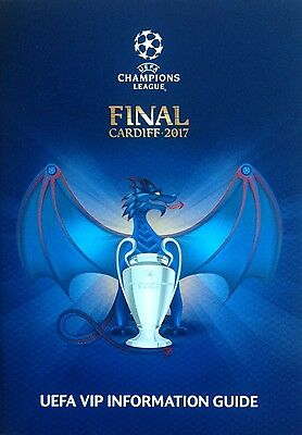 2017 JUVENTUS v REAL MADRID CHAMPIONS LEAGUE FINAL VIP INFORMATION GUIDE
