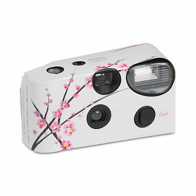 Cherry Blossom Design Disposable Camera Favour Party Accessory Pack of 2