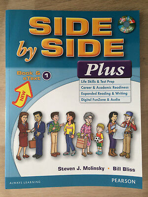 Side by side plus book and text Pearson Molinsky Bliss Anglais English learning