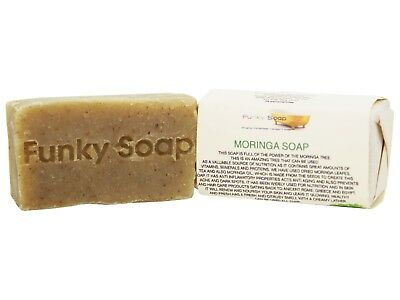 1 piece African Moringa Soap, 65g, 100% Natural Handmade