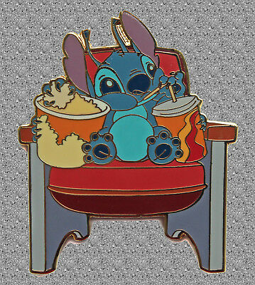 Stitch Goes to the Movies pin - Disney Auctions LE 1000