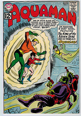 Aquaman #4 6.0 White Pages Silver Age
