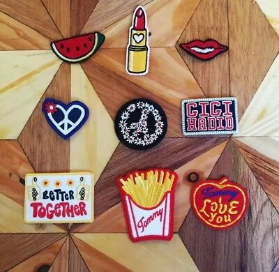 Tommy Hilfiger X Gigi Hadid SS17 Limited edition Patches. Appliqué, Craft