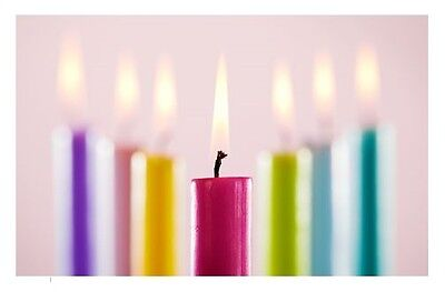 """**5 x 8"""" Beautiful Rustic Taper Candles (Unboxed) ** - also available in singles"""