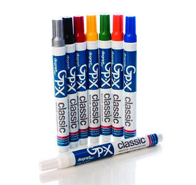 GP-X CLASSIC INDUSTRIAL PAINT MARKER DIAGRAPH Multiple Colors Available 12/Box
