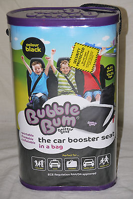 BUBBLE BUM Booster Seat - The booster seat in a bag - New - Only £24.50