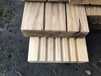 32mm X 120 X 4.8m Decking Boards Pressure Treated New