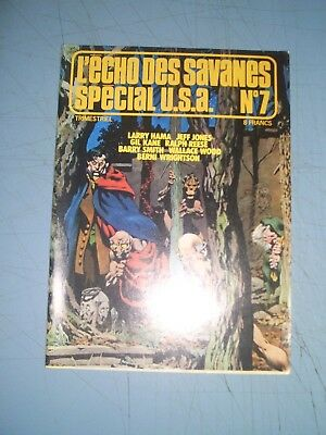 Echo des Savanes Special USA issue 7 Adams Wood Wrightson Steranko french comics