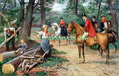 Antique Wheelbarrow~Sidesaddle~Aristocrats~Horses~Logging Family~NEW Note Cards