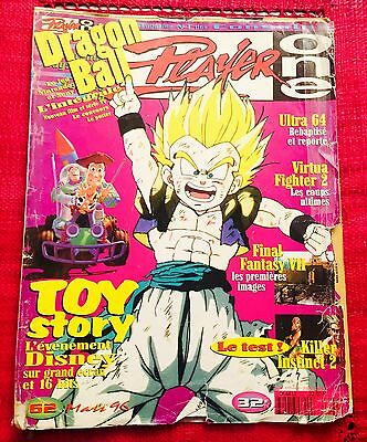 Magazine périodique manga - Player one N*62  mars 1996 - dragon ball introuvable