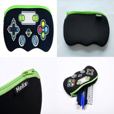 Helix Pencil Case Various Designs for Boys Girls Adult School Office, Assorted