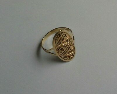 14CT Gold  Ring Size L