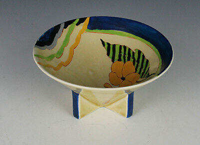 Clarice Cliff Lodore Conical Bowl.