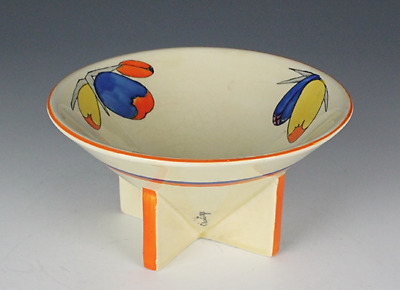 Clarice Cliff Flora Conical Bowl