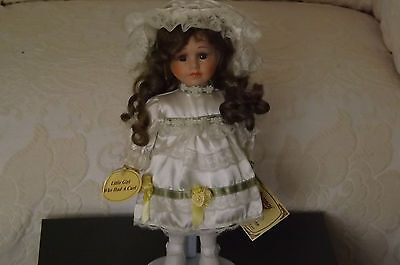 Collectable Vintage Doll from Regency Fine Arts Little Girl Who Had A Curl
