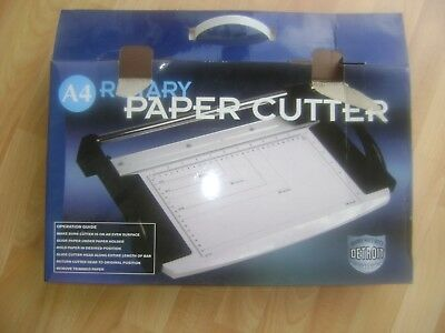 Detroit A4 Rotary Paper Cutter Trimmer Arts Crafts Home Card, boxed collect OL11