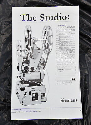 Siemans ZE3 Double Band Projector - rare, vintage promotional material