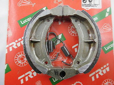 Brake Shoes YAMAHA RD50DX Rear Moped 95x20 Lucas - Brake Shoes Assembly