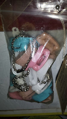 Vintage Original  Rare  1959  Princess Phone Plastic Keychain  advertising