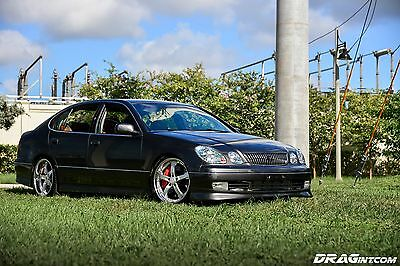 2003 Lexus GS Base Sedan 4-Door Lexus GS300 Sport Design 680HP 2JZGTE Single Turbo 5 Speed Haltech Supra Brembo